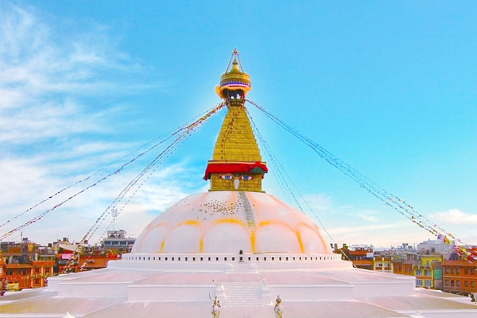 Enjoy the Spiritual Energy of Boudha Stupa