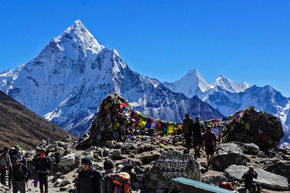 Trekking To The Base of Mount Everest