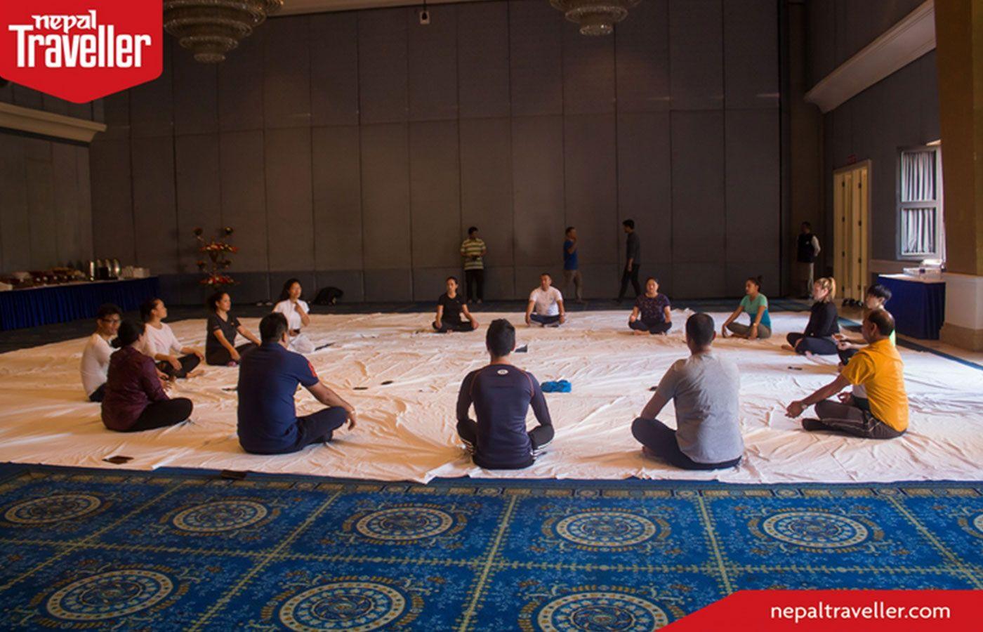 Hotel Yak & Yeti Celebrates International Yoga Day